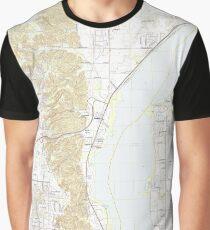 USGS TOPO Map Illinois IL Spring Bay 20120822 TM Graphic T-Shirt