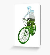 Green Transport 6 Greeting Card