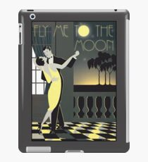 FLY ME TO THE MOON; Vintage Dance Print iPad Case/Skin