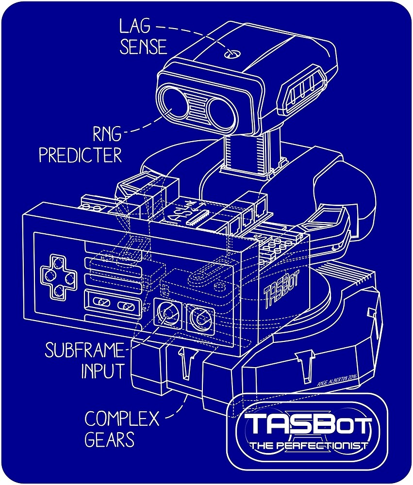 TASBot - the perfectionist by Ange Albertini