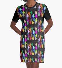 United Colors of Minifig [Large]  Graphic T-Shirt Dress