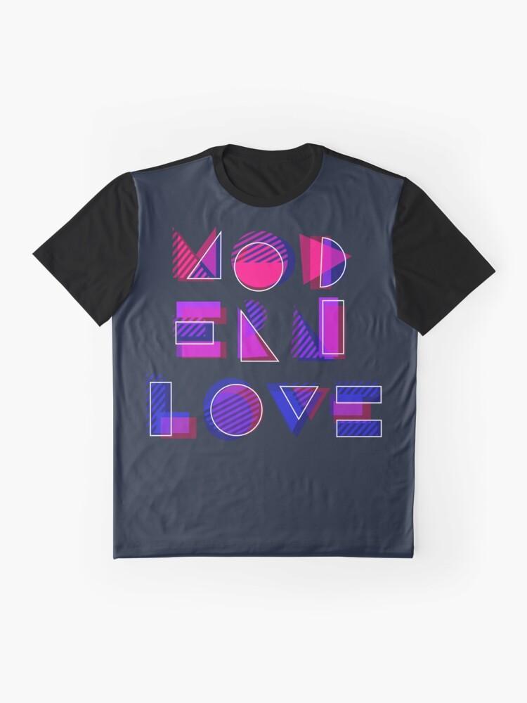 Alternate view of Modern Love (bonus) Graphic T-Shirt