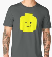 Minifig Winking Head  Men's Premium T-Shirt