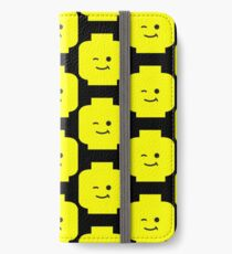 Minifig Winking Head  iPhone Wallet/Case/Skin