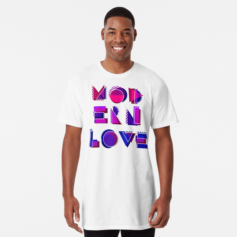 Modern Love (bonus) Long T-Shirt