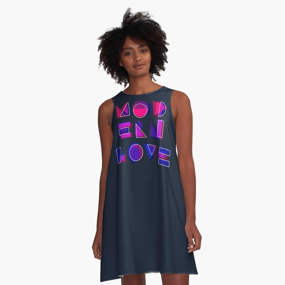 Modern Love (bonus) A-Line Dress