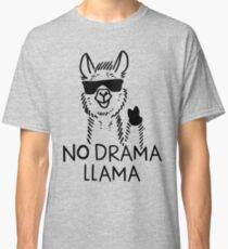 No Drama Llama Classic T-Shirt