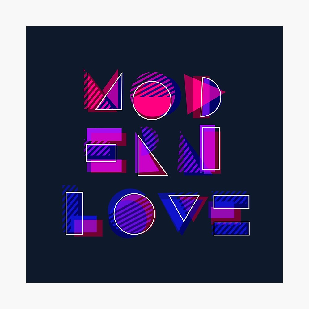 Modern Love (bonus) Photographic Print