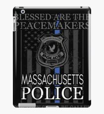 Massachusetts Police Boston Police Shirt Support Peacemakers iPad Case/Skin