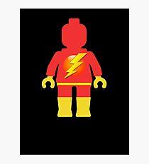 Lightning Minifig Photographic Print