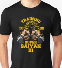 TRAINING TO GO SUPER III 3 workout gym fit lifting weights Unisex T-Shirt