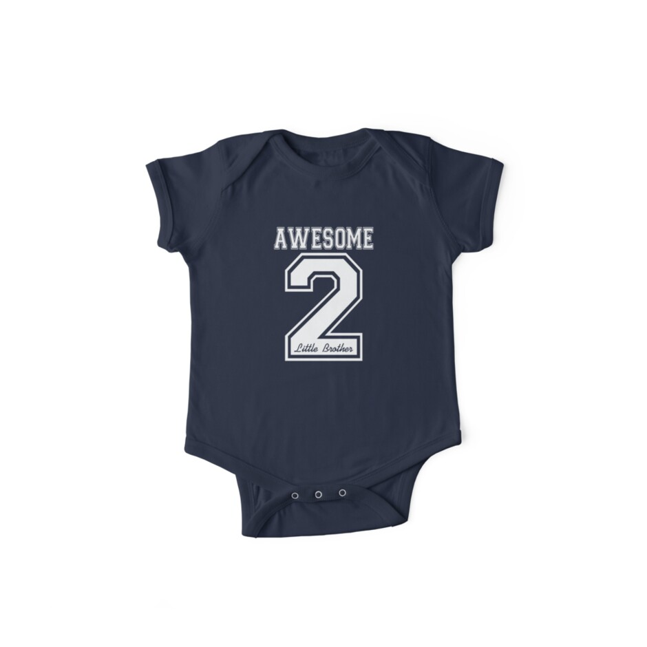 Awesome 2 Little Brother by ejnizkidswear