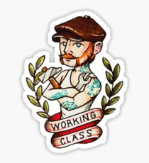 Working Class Pride Sticker