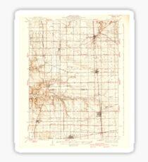 USGS TOPO Map Illinois IL Wenona 310062 1939 62500 Sticker