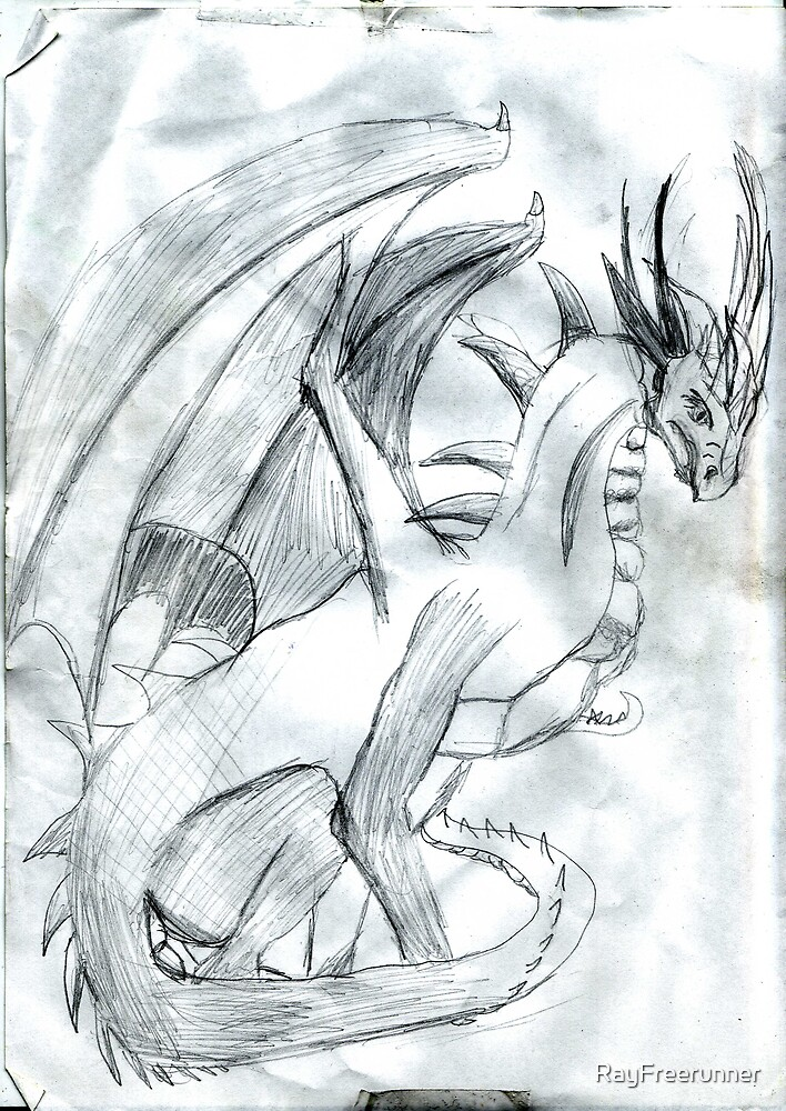 Black Draon  by RayFreerunner