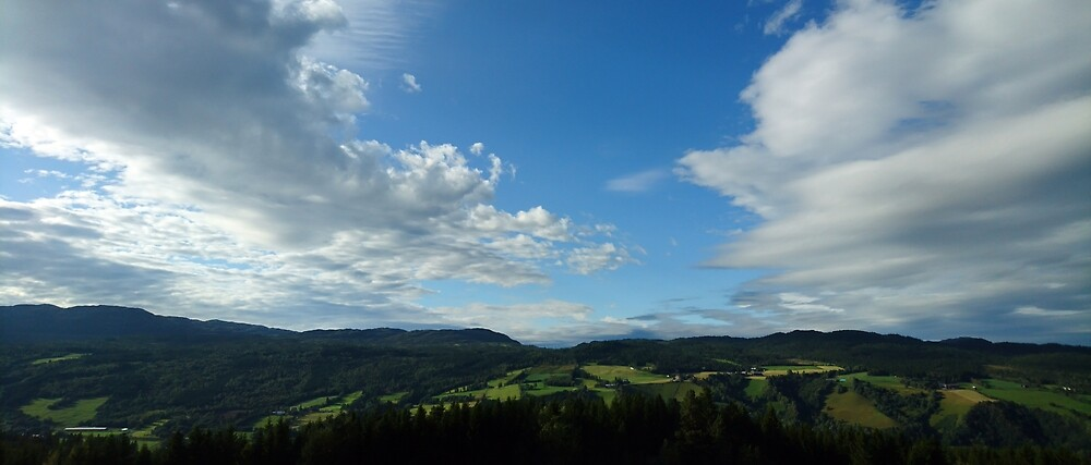 Mountain view by svehex