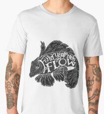 """Find your flow"" typography poster Men's Premium T-Shirt"