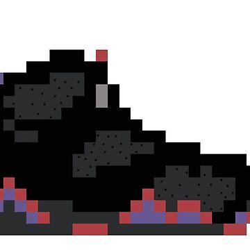 8-bit Jordan 7s by soujohn