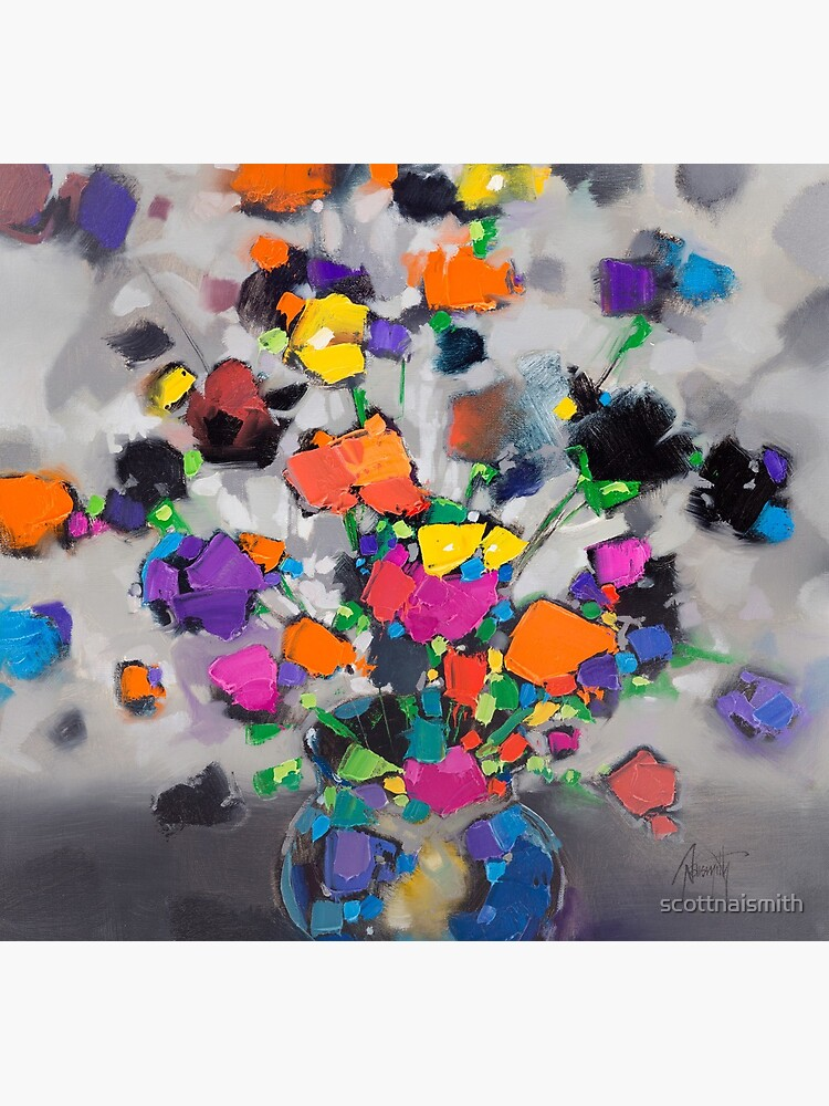 Floral Spectrum 1 by scottnaismith
