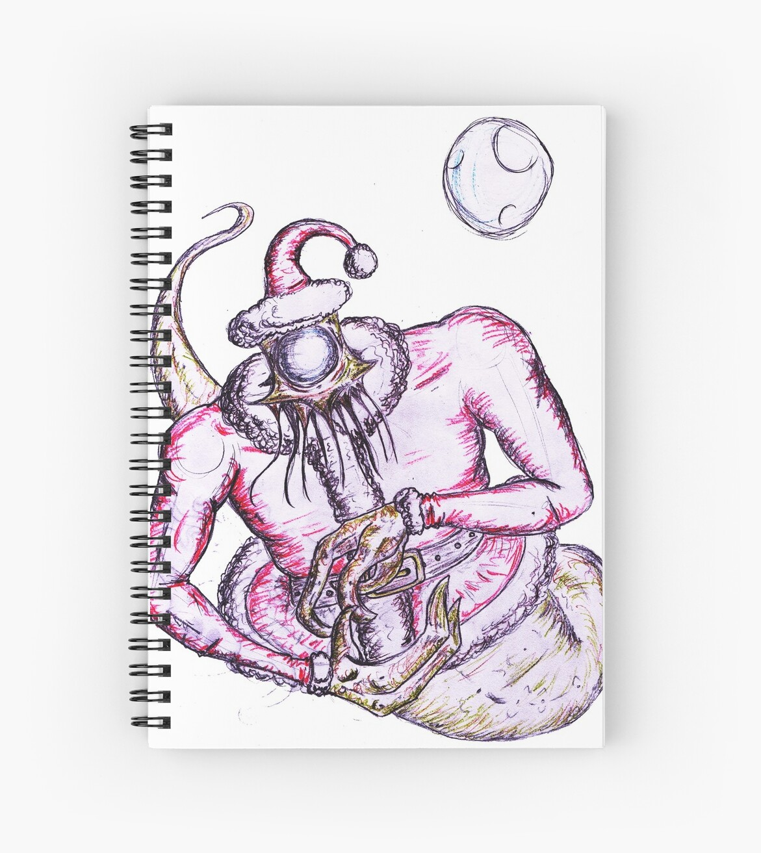 The creepy Santa is back! by Bioteknos
