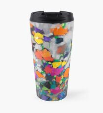 Floral Spectrum 1 Travel Mug