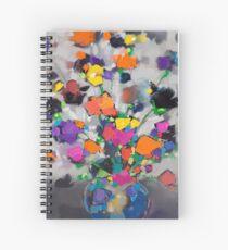 Floral Spectrum 1 Spiral Notebook