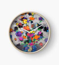 Floral Spectrum 1 Clock