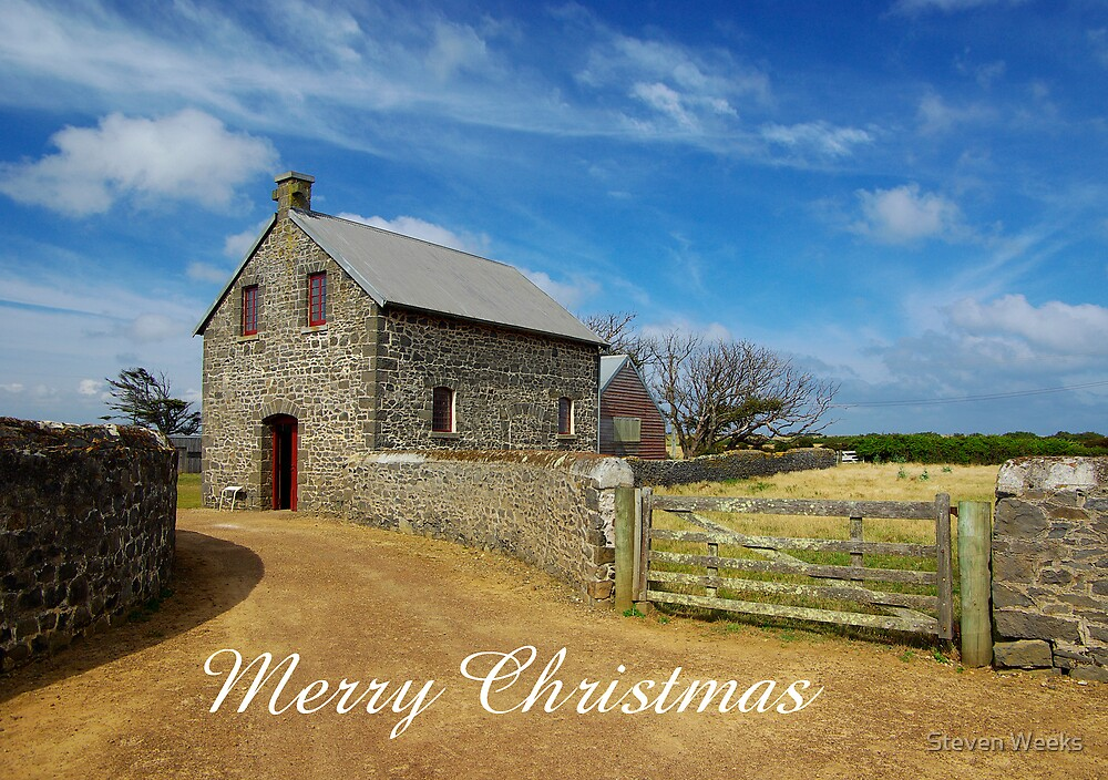 The Chapel, Merry Christmas by Steven Weeks