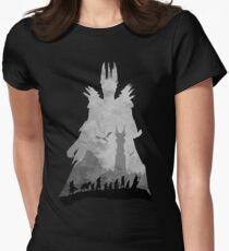 Sauron & The Fellowship Women's Fitted T-Shirt
