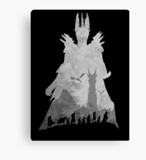 Sauron & The Fellowship Canvas Print