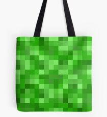 Minecraft Creeper replica Tote Bag