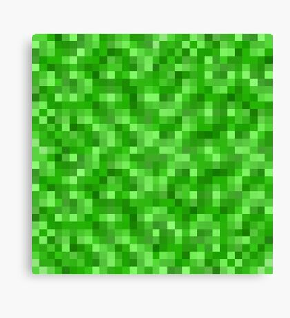 Minecraft Creeper replica Canvas Print