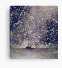 Star maps Canvas Print