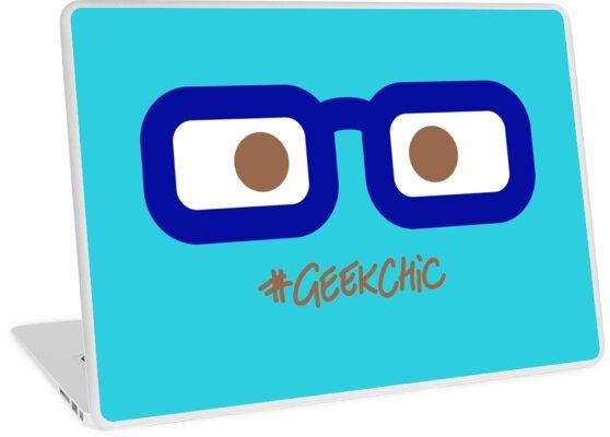 Geek Chic! (Brown Eyes) by randompandaUK