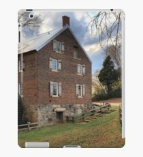 Kerr Grist Mill Panorama iPad Case/Skin