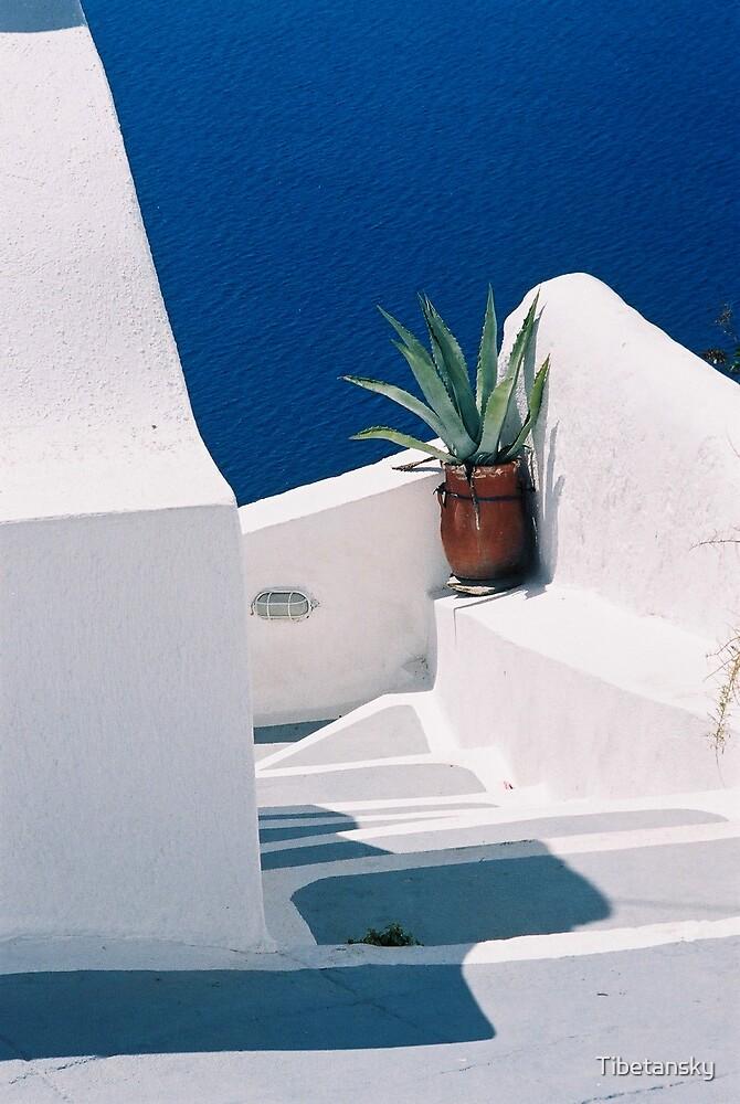 Greece-Santorini by Tibetansky