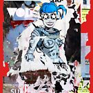 accidental art series robot girl 2 by alistair mcbride