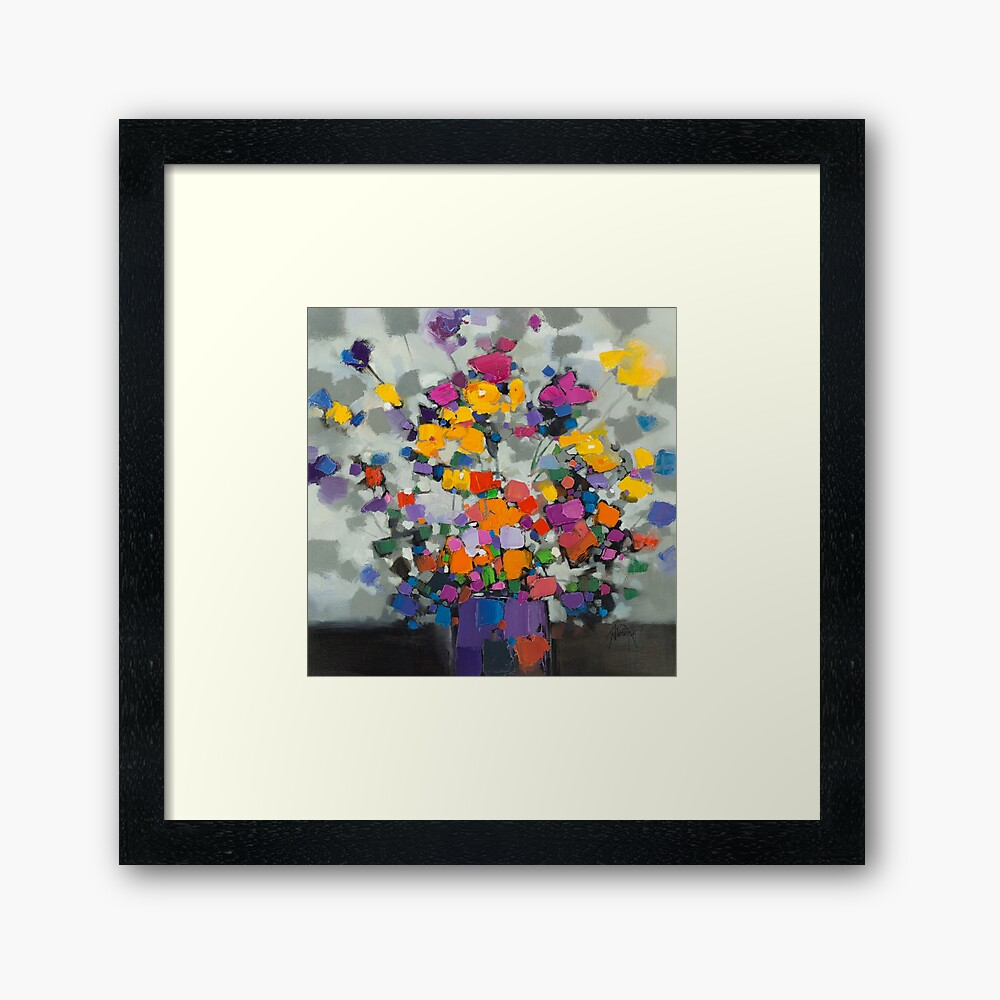 Floral Spectrum 2 Framed Art Print