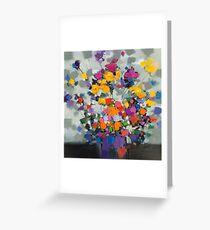 Floral Spectrum 2 Greeting Card