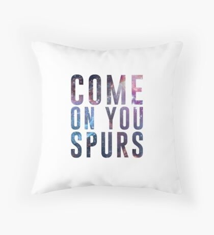 Come On You Spurs N17 Throw Pillow