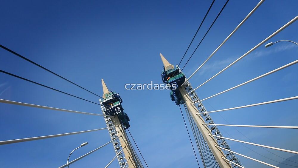 Penang Bridge, Malaysia by czardases