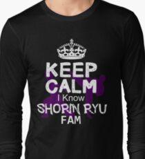 Keep calm I Know Shorin Ryu Fam T-Shirt
