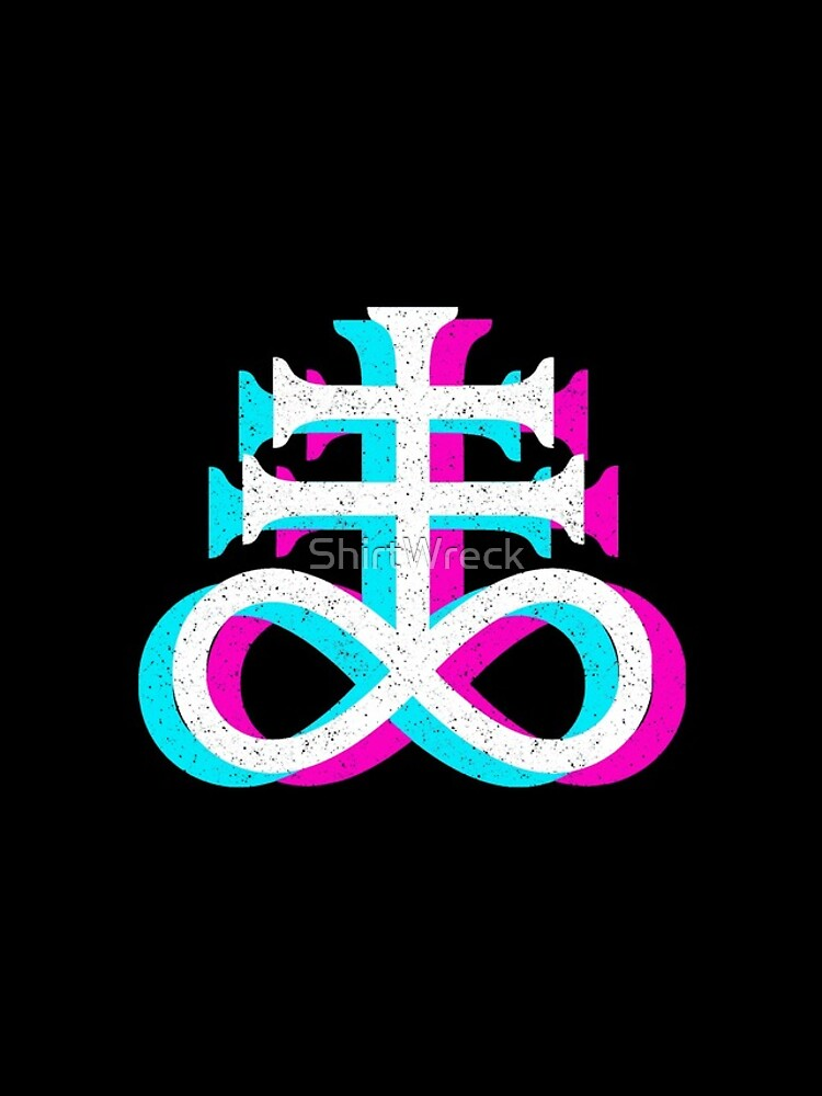 CRUZ LEVIATANA - SATANISMO Y EL OCULTO de ShirtWreck