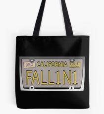 Lucifer's license plate - FALL1N1 Tote Bag