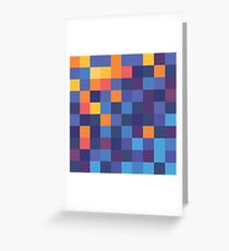 Mosaic 1484 - Fire and Ice or Water or Something Greeting Card