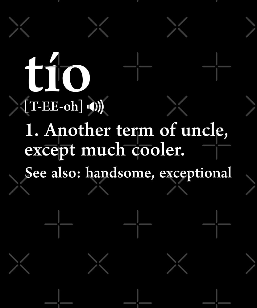 Tio meaning spanish