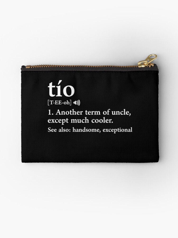 Tio meaning spanish