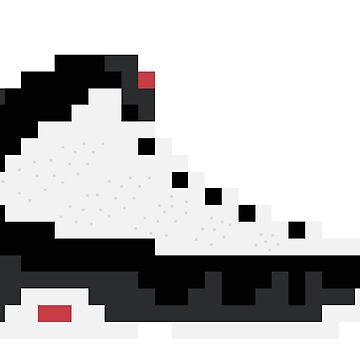8-bit Jordan 9s by soujohn