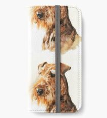 Airedale iPhone Wallet/Case/Skin