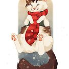 Happy Holidays - Murdock the Cat by PencilCat
